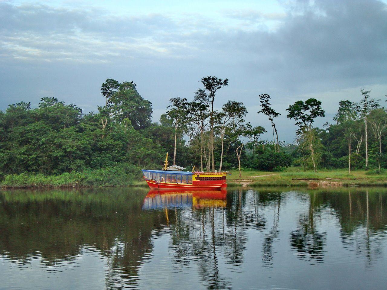 Суринам PZ5AB Туристические достопримечательности