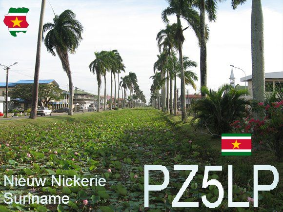 Суринам PZ5LP