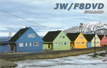 Svalbard Islands JW/F8DVD