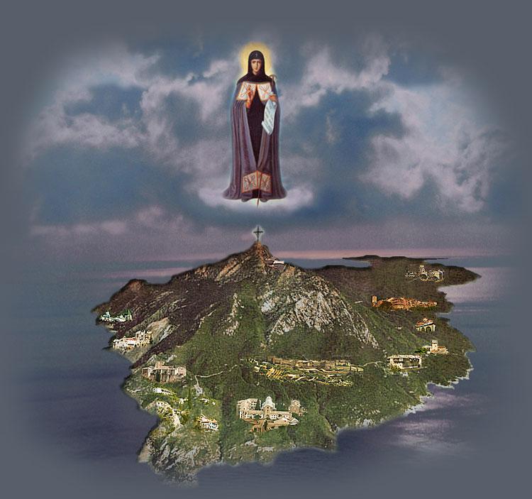 Святая Гора Афон SV2ASP Земной Удел Божией Матери