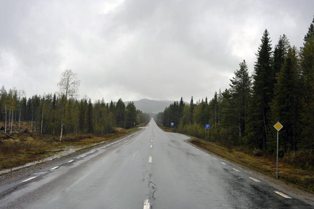 Sweden SM2DMU Typical Swedish landscape