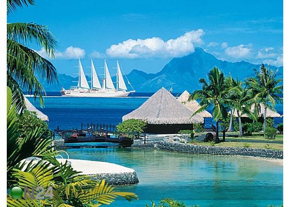 Остров Таити Французская Полинезия FO/F6BCW