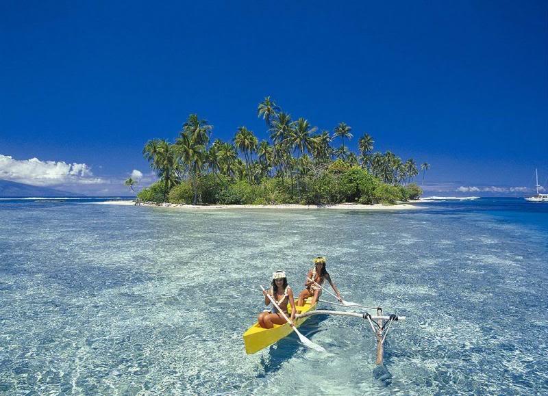 Таити Французская Полинезия FO8RZ CQ WW DX RTTY Contest 2010