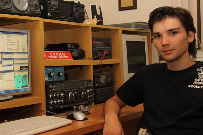 Tajikistan Zamir Tursun Zadeh EY8DD