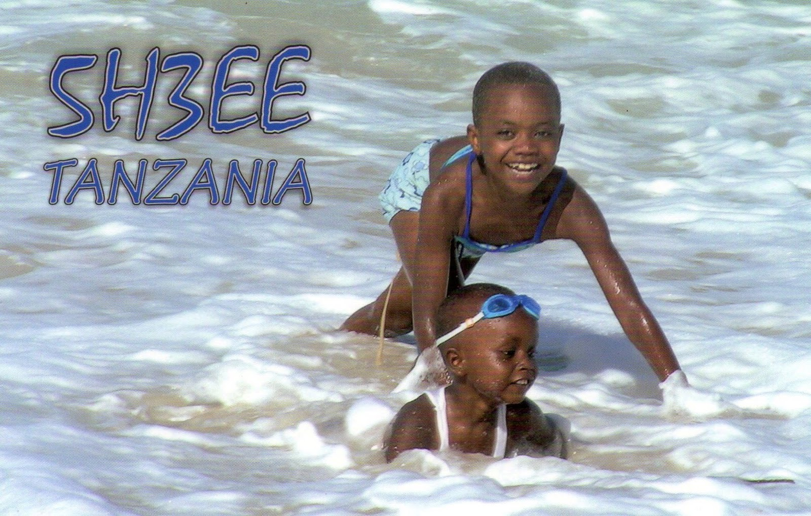 Танзания 5H3EE QSL