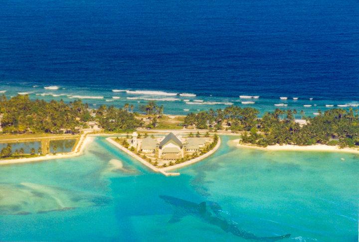 Остров Тарава Острова Гилберта Кирибати T30HA Здание Парламента