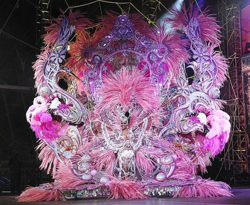 Tenerife Island Canary Islands DX News ED8T Queen of Carnival