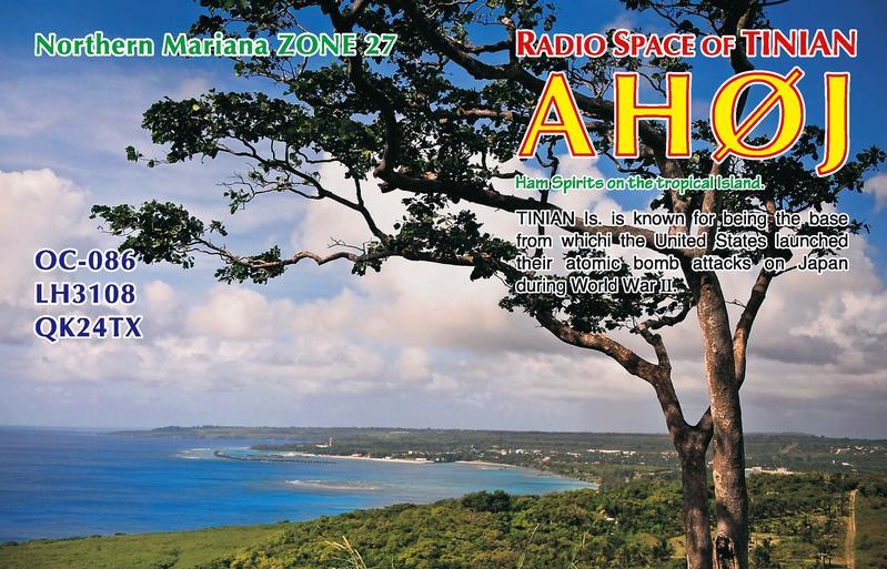 Остров Тиниан AH0J