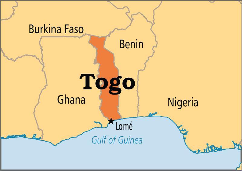 Togo 5V7TH MAP