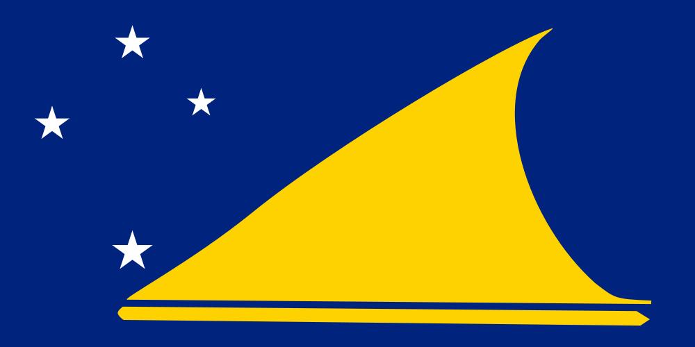 Tokelau Islands Flag of Tokelau