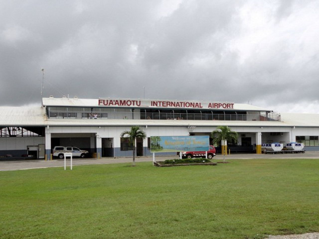 Королевство Тонга A35YZ Фууамоту Международный Аэропорт