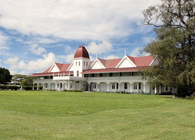 Королевство Тонга A35YZ Королевский дворец