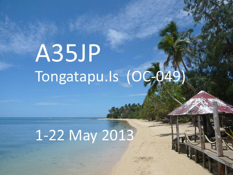Tongatapu Island A35JP