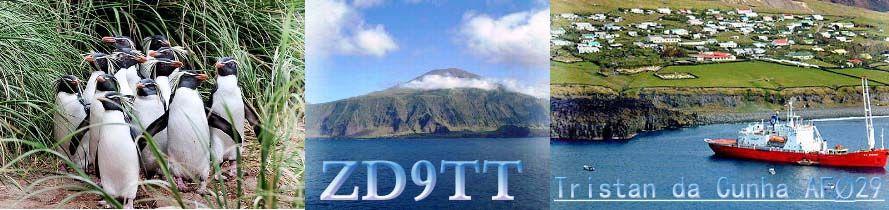 Остров Тристан Да Кунья ZD9TT Логотип