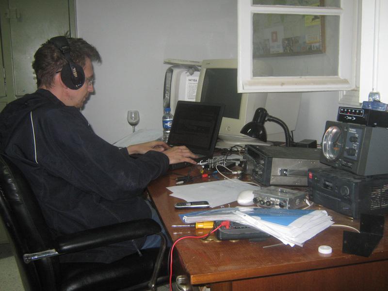 Тунис 3V3A CQ WW DX CW Contest Контест CQ CQ
