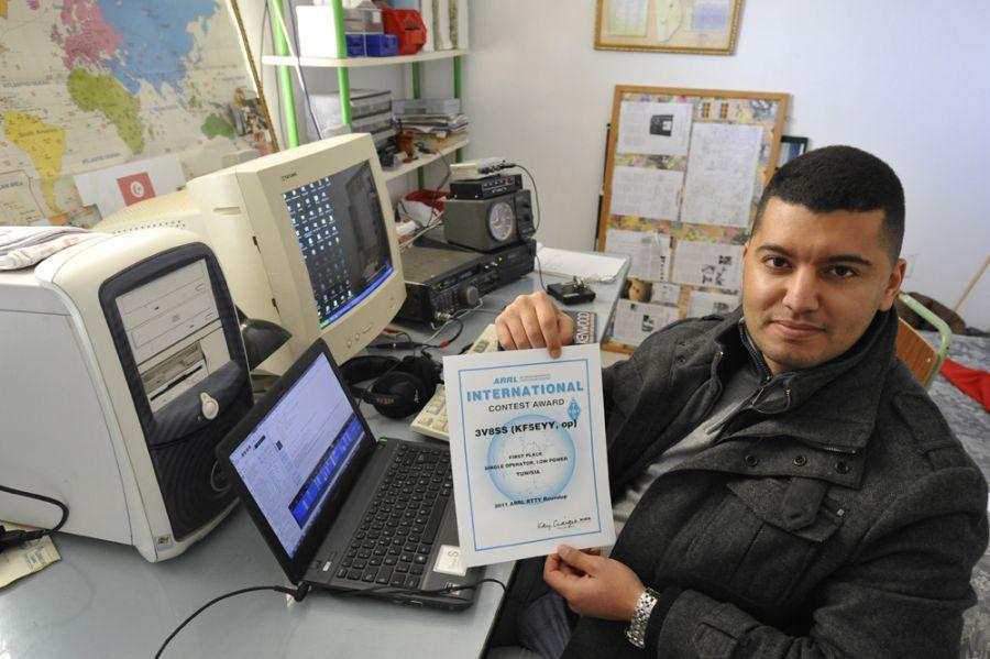 Tunisia KF5EYY 3V8SS Awards