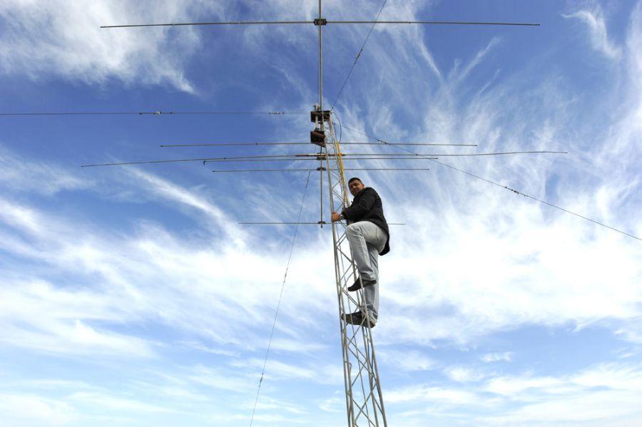Tunisia KF5EYY 3V8SS Tower Rotator