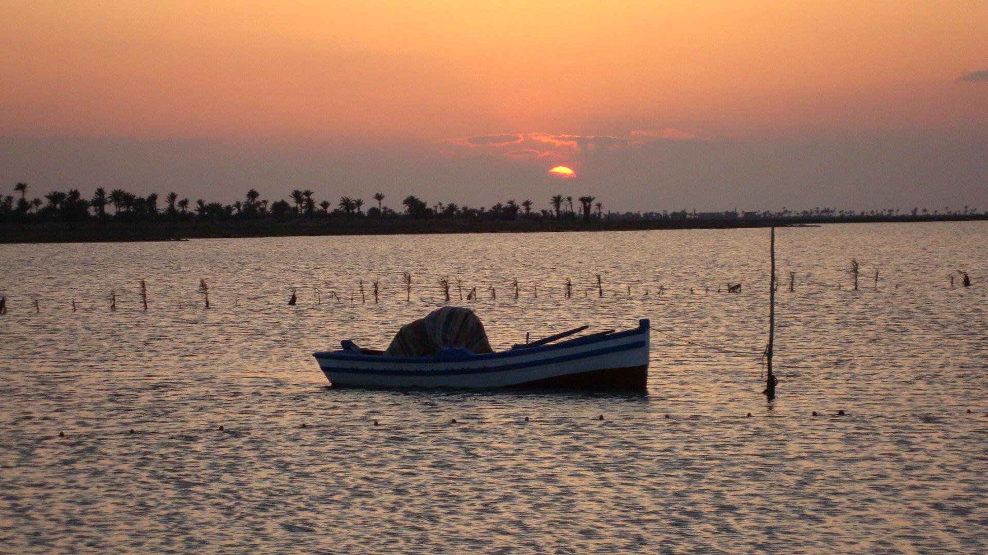 Tunisia Kerkennah Island