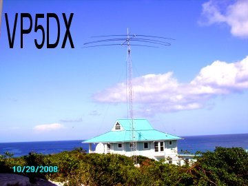 Turks and Caicos Islands VP5DX N1WON
