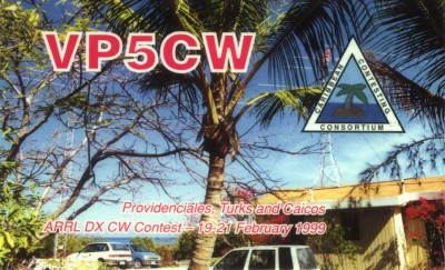 Turks and Caicos Islands VQ51V VP5-W5CW
