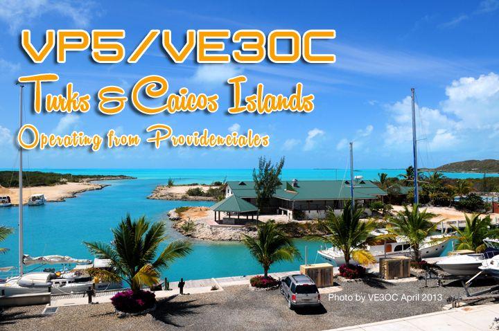Turks and Caicos Islands VP5/VE3OC