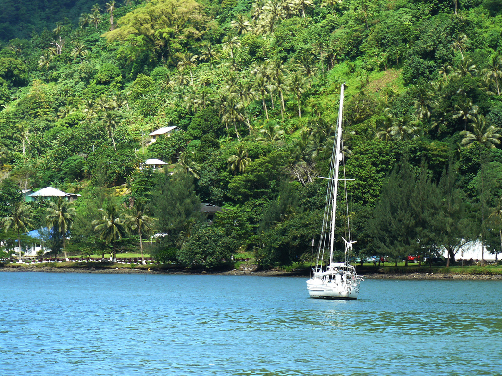 Остров Тутуила Американское Самоа WA8LOW/KH8 DX Новости