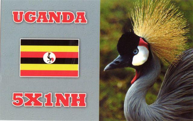 Uganda 5X1NH 2013