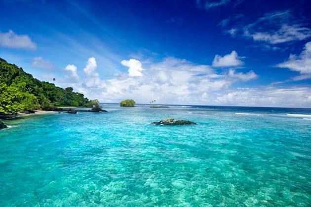 Остров Уполу Самоа 5W0RK