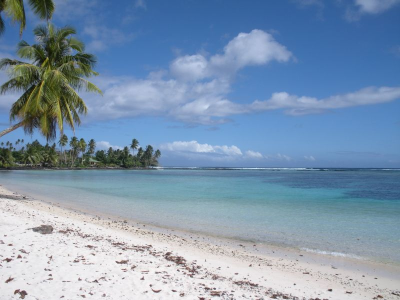 Остров Уполу Самоа 5W0ML