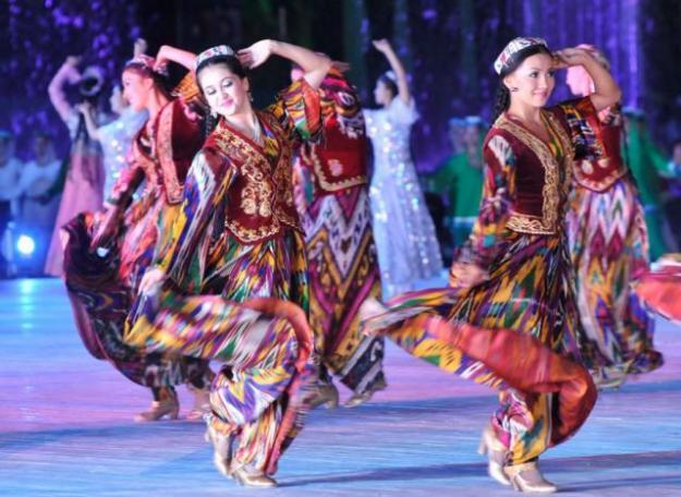 Узбекистан UK/UA4WHX DX Новости Национальные танцы