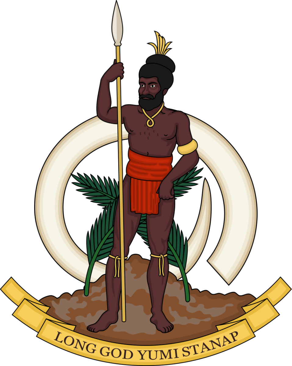 Vanuatu Coat of Arms of Vanuatu