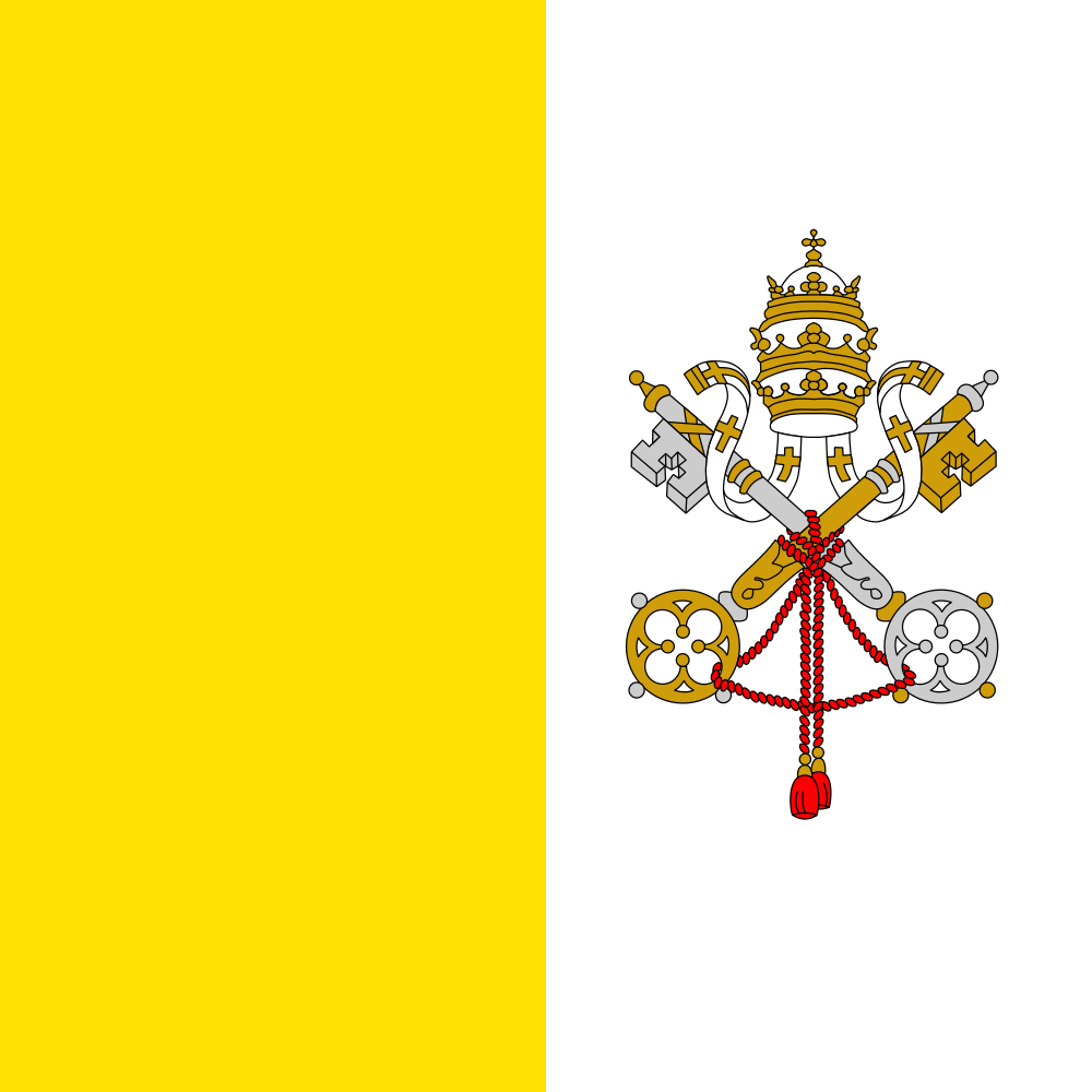 Vatican Flag of Vatican city