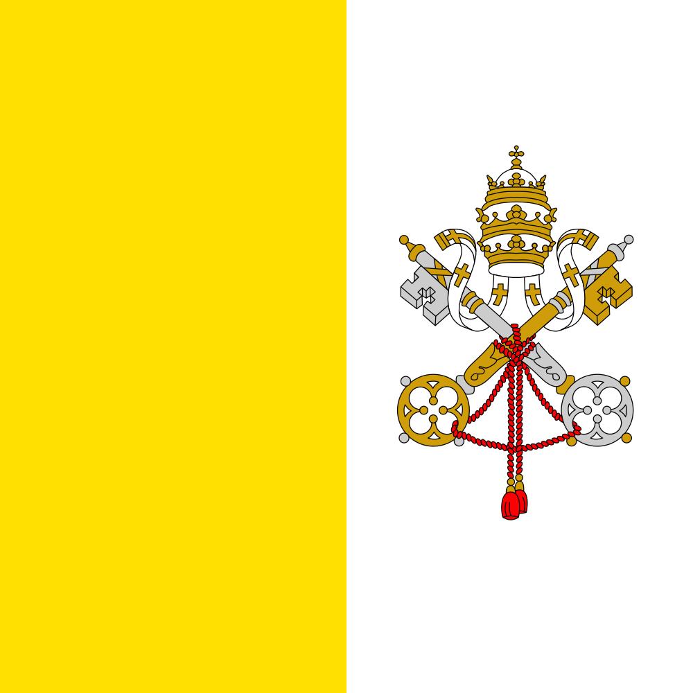Vatican Flag of Vatican city