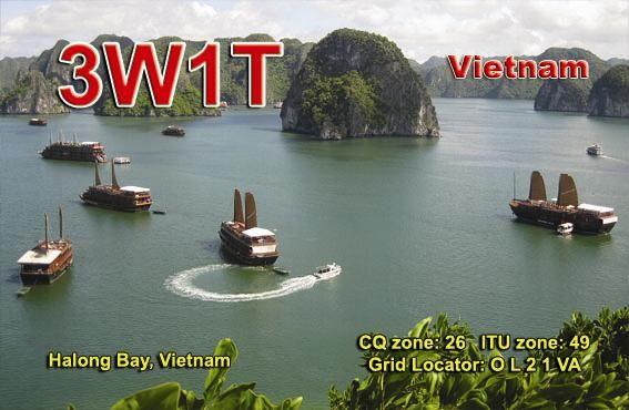 Vietnam 3W1T QSL