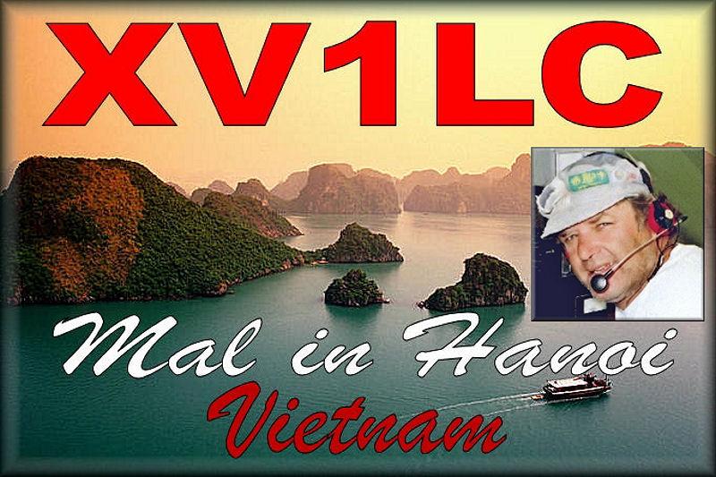 Вьетнам XV1LC QSL