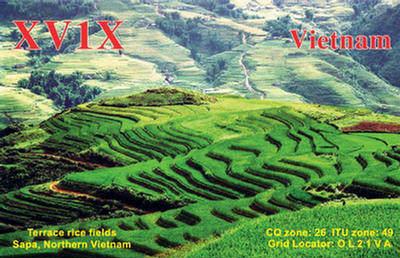 Vietnam XV1X QSL