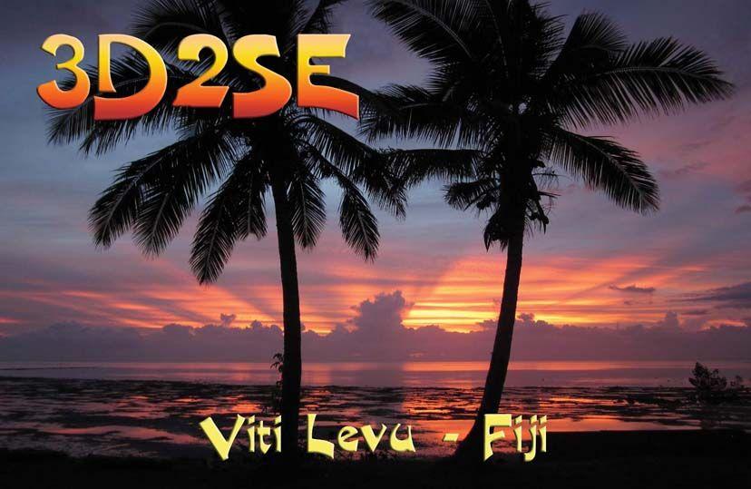 Viti Levu Island 3D2SE Fiji