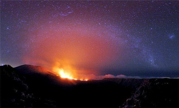 Volcano Furnace Reunion Island TO1PF