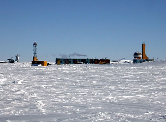 Vostok Base Antarctica RI1ANC
