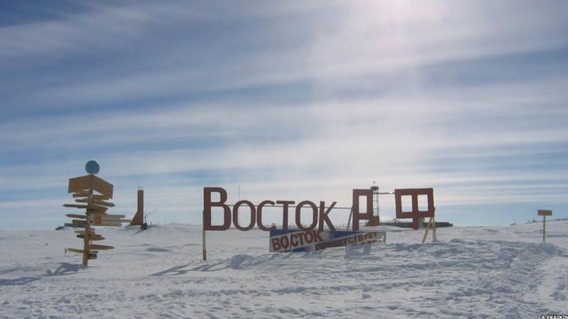 Станция Восток Антарктида RI1ANC