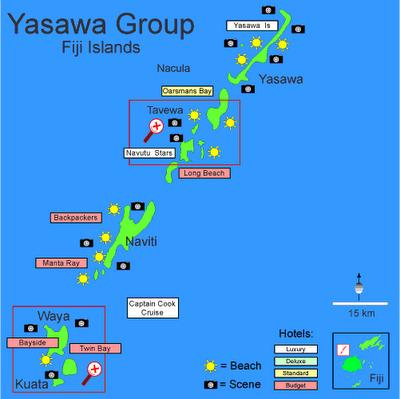 Ясава Острова Фиджи