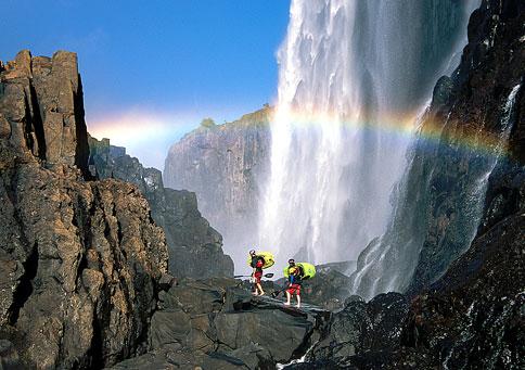 Замбия Водопад Виктория 9J2MG