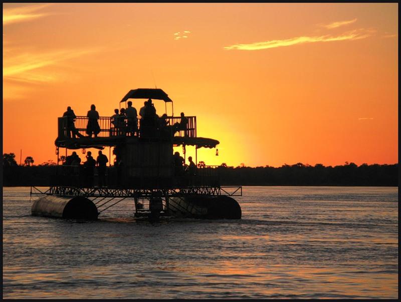 Zambia Zambezi River Catamaran 9J2ZM