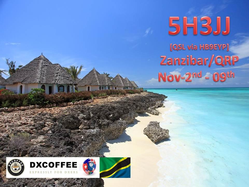 Zanzibar Island 5H3JJ