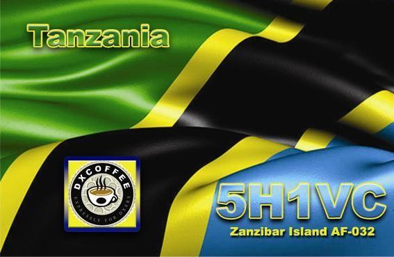Остров Занзибар 5H1VC QSL