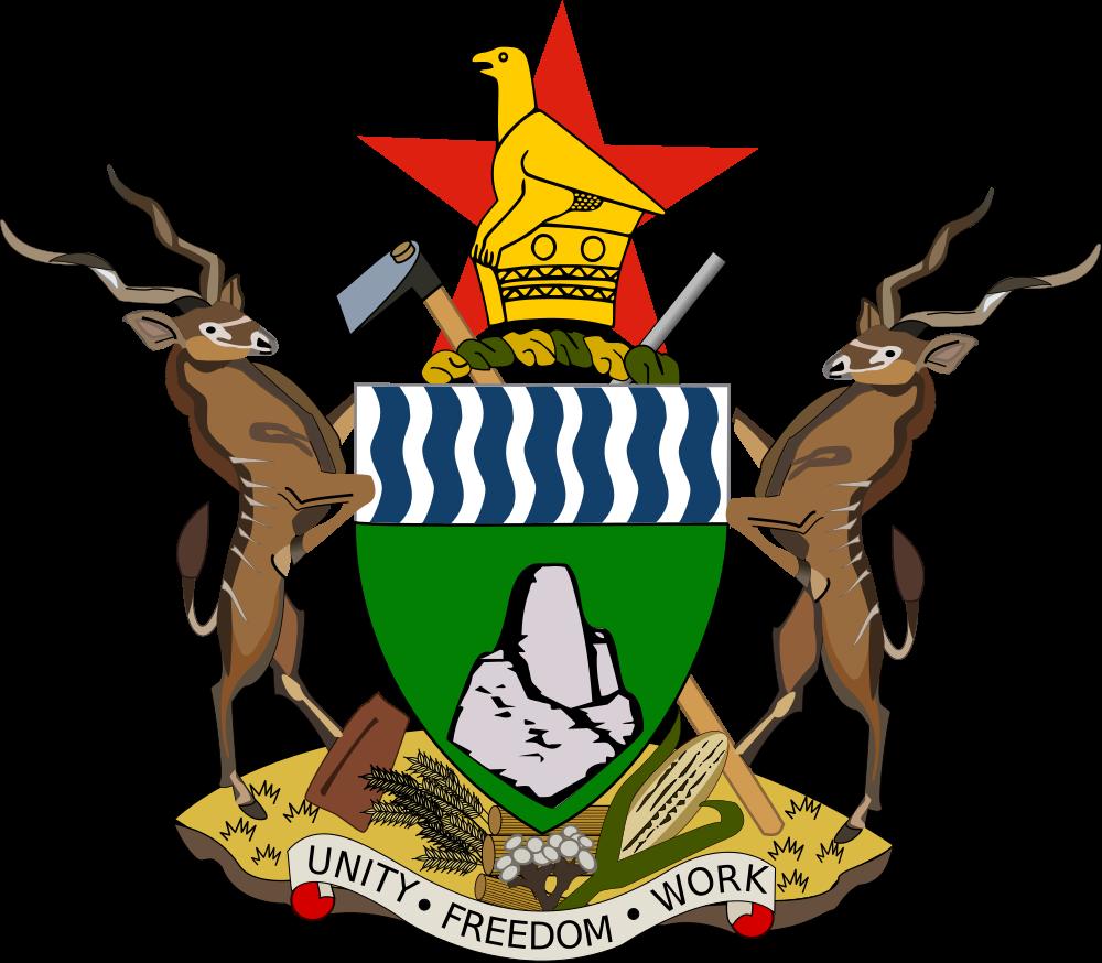 Zimbabwe Coat of Arms of Zimbabwe Z21GF