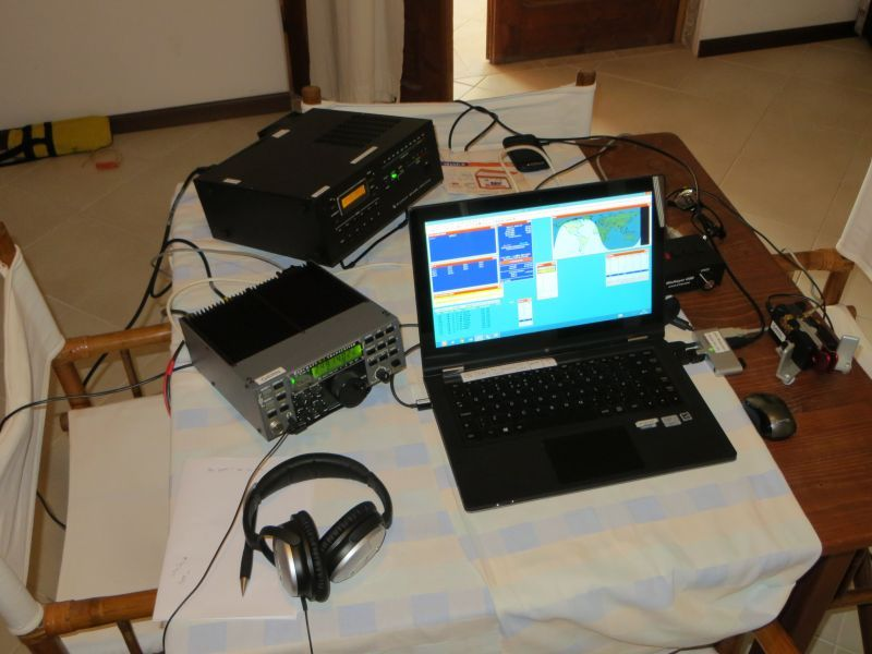 Boa Vista Island Cabo Verde Cape Verde D44TWQ Radio