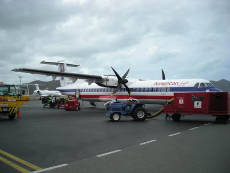 VP2VVA The Bombardier plane