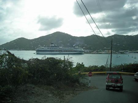 Cruise ships VP2VVA