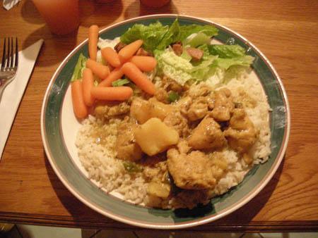 The Locust K6VVA enjoyed the great dinners prepared by Mrs. VP2VQ !!!